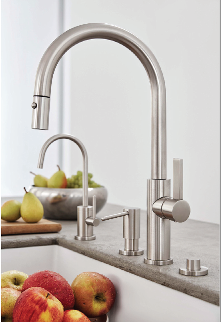Modern kitchen faucet by California Faucets