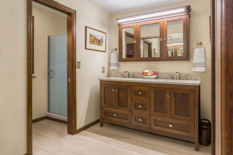 Bathroom with Strasser Vanity