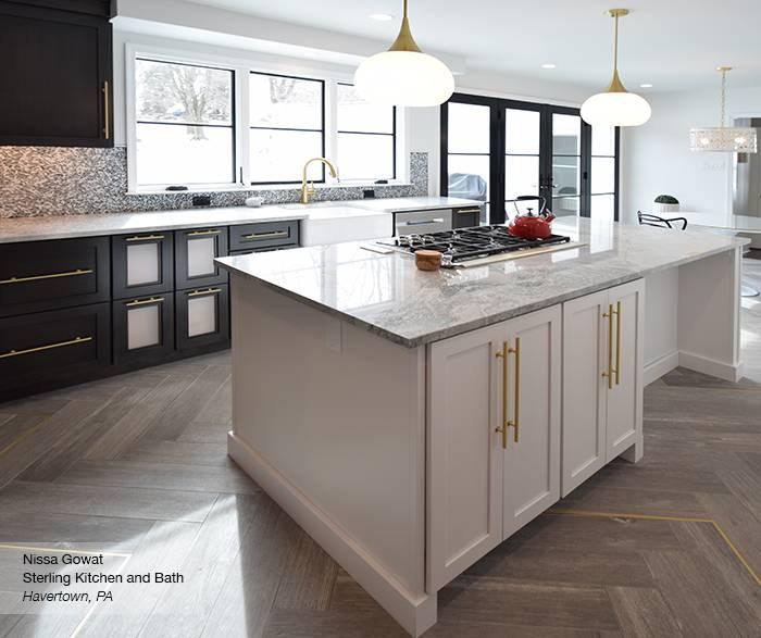 Omega custom kitchen cabinets designed by Nissa Gowat